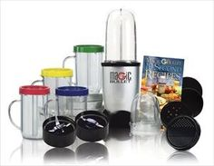 Whip up milkshakes, pancake batters or your favorite frozen cocktails with the Magic Bullet Blender