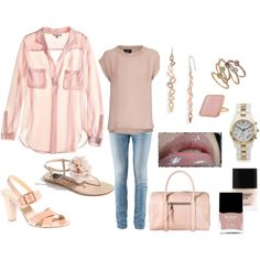 Not so excited about pale pink but I like the idea!