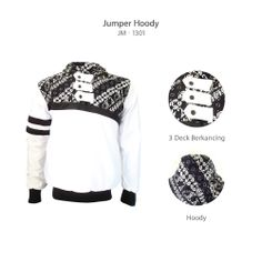 Jumper Hoody JM-1301  #jaketbatikmedogh  http://medogh.com/baju-batik-pria/jaket-batik-pria/Jaket-Batik-Stripped-JM-1301