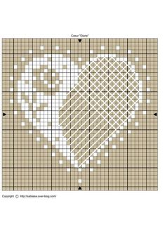 This Pin was discovered by Kirsten Baxter. Discover (and save!) your own Pins… Mini Cross Stitch, Cross Stitch Heart, Cross Stitch Flowers, Cross Stitch Designs, Cross Stitch Patterns, Cross Stitching, Cross Stitch Embroidery, Cross Stitch Pictures, Crochet Cross