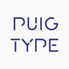 puig free vector typography