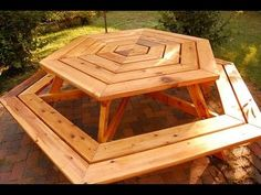 How to Build a Picnic Table - How to Build a Planter Box - Hexagonal Picnic Table [Part 2 of 3]. Click this LINK ► ... for 9000 furniture plans Make money selling your woodwork ► ... ... Have you ever wondered how you can get instant access to