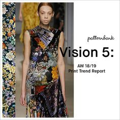 Shop our latest Print & Pattern Trend Report forFall/Winter 2018/19 –Vision 5: We understand the fast moving design industry and aim to innovate and