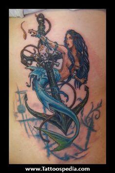 Anchor%20Mermaid%20Tattoo%201 Anchor Mermaid Tattoo