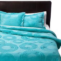 Xhilaration® Plush Comforter Set - Aqua