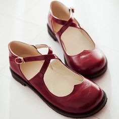 Heart Mary Janes - $31.00 http://womenfashion.storenvy.com/products/12609822-japanese-cute-love-princess-shoes