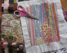 Dropcloth Samplers Pre-Printed Cotton Embroidery Sampler SEQUEL SAMPLER Hand Embroidery Pattern