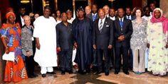 geophilworld: (Photo) President Jonathan welcomes International ...