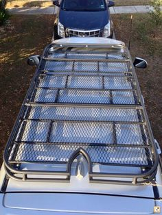 Full Length Roof Racks by drabbits - Toyota Forum - Largest… Toyota 4runner, Toyota 4x4, Jeep Wk, Vw Lt, Bug Out Vehicle, Ford Excursion, Car Mods, Kabine, Roof Repair