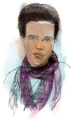 "Dan Chiasson on Claudia Rankine's latest: ""Generally, in lyric poems, we expect the past to return with uncanny vividness in the changed context of the present. ... In 'Citizen,' the past has never receded in the first place."" http://nyr.kr/1sEKEyT (Illustration by Patrick Morgan / Reference from Margarita Corporan)"