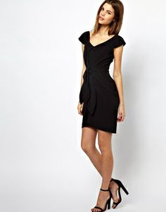 Image 4 ofA Wear Bow Front Dress