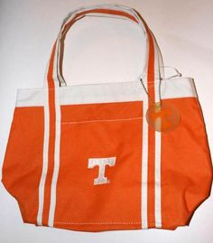 Tennessee Volunteers Bag Purse Bacon & Co College Football Sports  $12.99