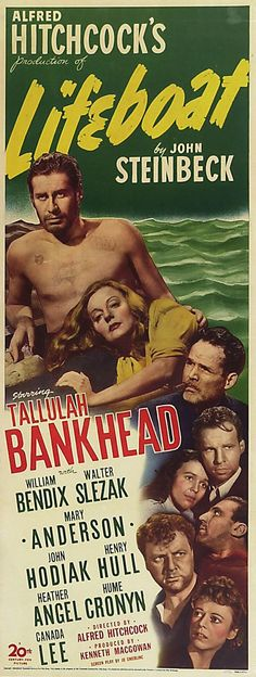 #Lifeboat, movie poster insert, 1944.-Watch Free Latest Movies Online on Moive365.to