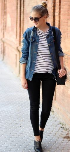 The Exact Shoes To Wear With Every Pair Of Jeans You Own Pinterest Ankle Jeans Oxfords And
