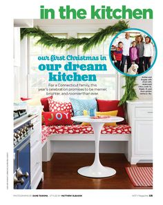 Shop a wide array of LexMod's mid-century furniture like the Lippa Table, as seen in the December issue of HGTV Magazine! Check out the full story in HGTV on newsstands now.