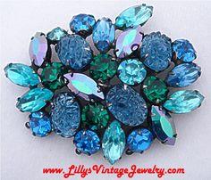 Blue jewelry inspiration