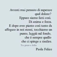 V Quote, Words Quotes, Life Quotes, Italian Phrases, Italian Quotes, Most Beautiful Words, Smart Quotes, Knowledge And Wisdom, More Words