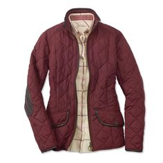 Barbour Diamond Quilted Jacket For Women - Barbour%26%23174%3b Ladies Stallion Quilted Jacket -- Orvis on Orvis.com!