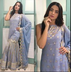 Pakistani Dress Design, Pakistani Dresses, Indian Dresses, Ethnic Outfits, Stylish Outfits, Fashion Outfits, Indian Wedding Outfits, Indian Outfits, Indian Attire