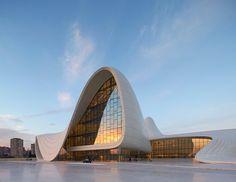 Работы гения современной архитектуры Захи Хадид - ФОТО - 1NEWS.AZ