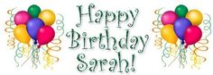 Happy Birthday Sarah Funny, Images, Meme And Wishes Messages Niece Birthday Wishes, Happy Birthday Sarah, Birthday Name, Daughter Birthday, I Love My Friends, Good Morning Friends, Birthday Greeting Cards, Birthday Greetings, Good Night Sweet Dreams