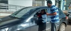 Ciretran, agentes de trânsito do Detran TO, PM e PRF realizaram blitz educativa +http://brml.co/1KSs5zo
