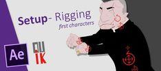 Tutoriales para manejar Duik, script de animación de personajes con After Effects.
