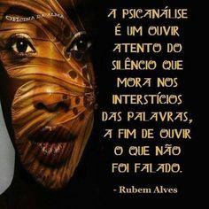 Ruben Alves sobre a Psicanálise