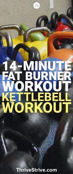 14 Min Kettlebell Workout | Posted By: CustomWeightLossProgram.com