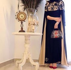 IG: Flowna_Designs || IG: BeautiifulinBlack || Modern Abaya Fashion ||