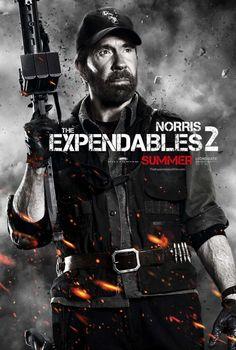 Los más duros de nuevo juntos  http://www.sensacine.com/actores/actor-1690/    #SensaCine #LosMercenarios2 #ChuckNorris