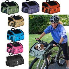 3-in-1 Bike Bicycle Basket Dog Cat Carrier Car Seat Travel Tote Pet Gear NEW  #PetGear