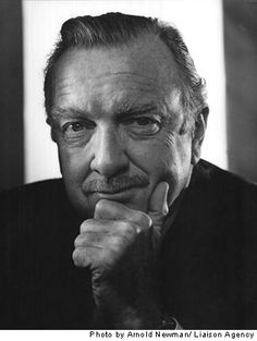Walter Cronkite, Aug. 10, 1970 by Alfred Newman