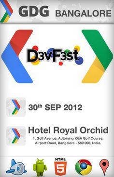 GDG Devfest in Bangalore