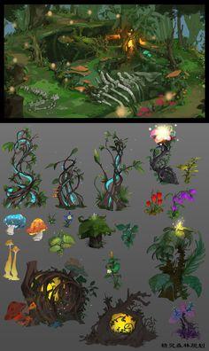 ArtStation - Dark forest, cheng zhang