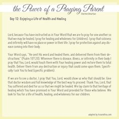 30 Prayers from the Power of a Praying Wife and Parent (Day 12)