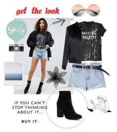 """""""Smile"""" by yumyv ❤ liked on Polyvore featuring ASOS, Glamorous, Witchery and ZeroUV"""