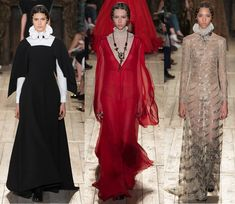 Get the jewelry looks from Paris Fashion week for less: Valentino Fall 2016 Haute Couture Collection