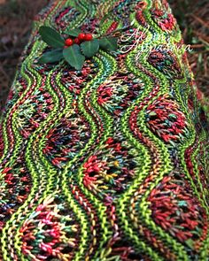 Ravelry: Gardens of Giverny Stole pattern by Alina Appasova