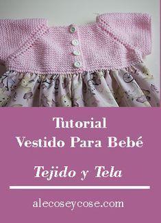 Crochet Girls Dress Pattern, Romper Pattern, Knitted Baby Clothes, Knitted Romper, Baby Knitting Patterns, Baby Patterns, Baby Coat, Young Fashion, Little Girl Dresses