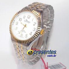 dd466d1958b KT70139B Relógio de Pulso Condor New Analógico aço Masculino. E-Presentes