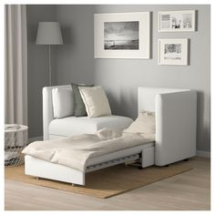Backabro Sofa Bed With Chaise Longue Hylte Beige Ikea
