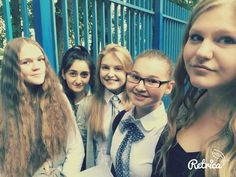 the first day in the hell but we are beautiful as always :D