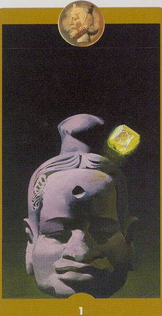 Ace of Pentacles - Tarot of the Imagination by Ferenc Pinter