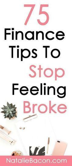 75 Finance tips to stop feeling broke. Frugal living save money budget make m 75 Finance tips to stop feeling broke. Frugal living save money budget make money and stop the cycle of paycheck-to-paycheck. Ways To Save Money, Money Tips, Money Saving Tips, How To Make Money, Money Budget, Groceries Budget, Mo Money, Managing Money, Cash Money