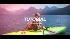 Cinematic Parallax Slideshow Opener - After Effects Templates After Effects Projects, After Effects Templates