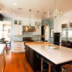 Transitional Glam Kitchen - traditional - kitchen - chicago - Normandy Remodeling