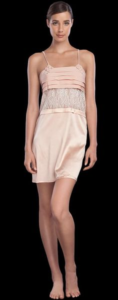 La Perla: Mikado Short Nightgown