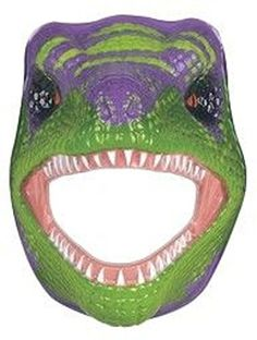 Foam Mask T-Rex by Wild Republic -- For more information, visit image link.