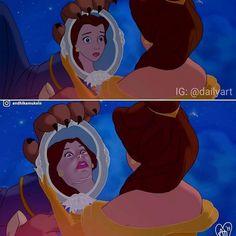 Disney vs Reality part 2 P.S: I want the male version 🤣 Funny Disney Jokes, Crazy Funny Memes, Disney Memes, Disney Cartoons, Realistic Disney Princess, Disney Princess Memes, Funny Princess, Cartoon Memes, Cartoon Pics